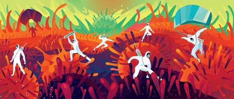 കോവിഡിനെതിരായ പോരാട്ടം: ഉത്പാദനത്തില് മുന്നേറ്റവുമായി ഖത്തര്